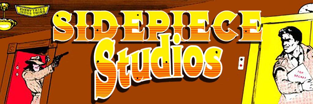 Sidepiece Studios Logo using Elevator Action Art